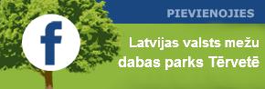 Tērvetes dabas parka facebook lapa