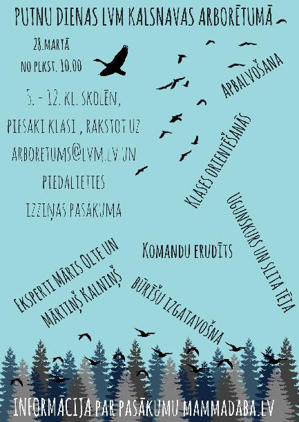 Afisha bilde putnu dienas